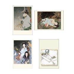 画像4: #bookset 03 普及版『天守物語』(Wサイン本)+普及版『草迷宮』(サイン本)+ポストカード4枚付きセット