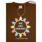 001 FRIENDS/brown